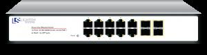 POE switch 14 ports