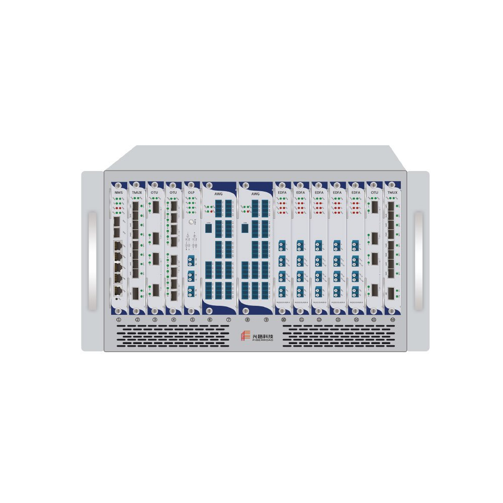 L06R16C-2.5U-8-Slot-Management-Rack
