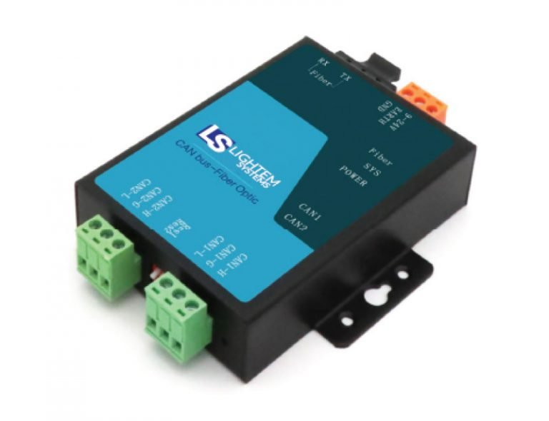 LxCAN-yF CAN Bus Fiber converter